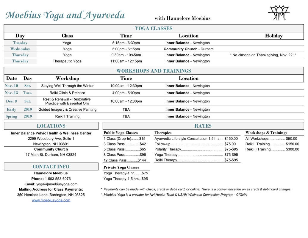 Yoga in Newington & Durham, NH